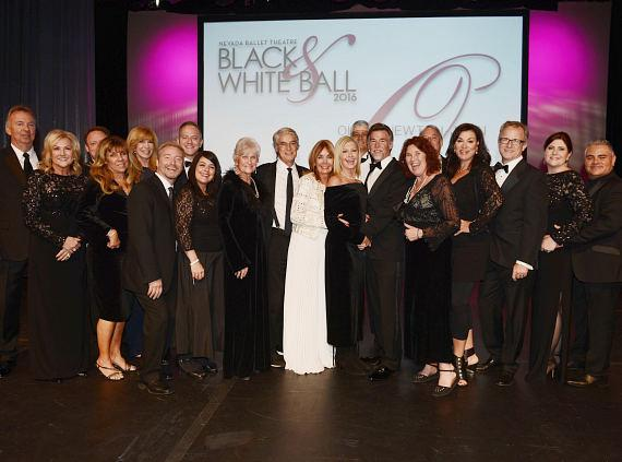Olivia Newton-John honored at the 32nd Annual Black & White Ball at Wynn Las Vegas on January 23, 2016 in Las Vegas, Nevada