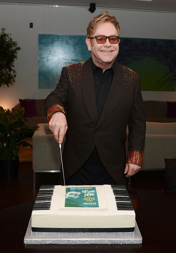 Elton John Celebrates 100th Performance of
