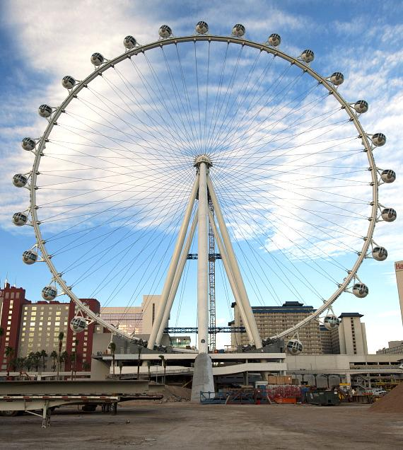 Final Cabin attached to the Las Vegas High Roller at The LINQ