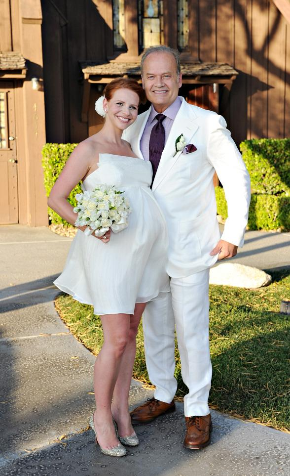 Kelsey and Kayte Grammer Renew Their Wedding Vows at The Little Church of The West in Las Vegas