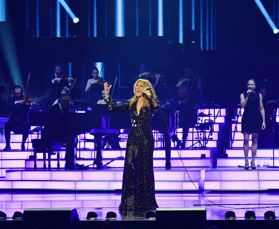 Celine Dion returns to her Las Vegas Residency at The Colosseum at Caesars Palace