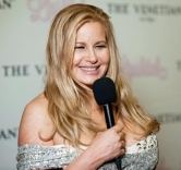 "Jennifer Coolidge Performs in ""Lipshtick – The Perfect Shade of Stand Up"" at The Venetian Las Vegas"