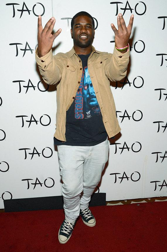 A$AP Ferg on Red Carpet at TAO