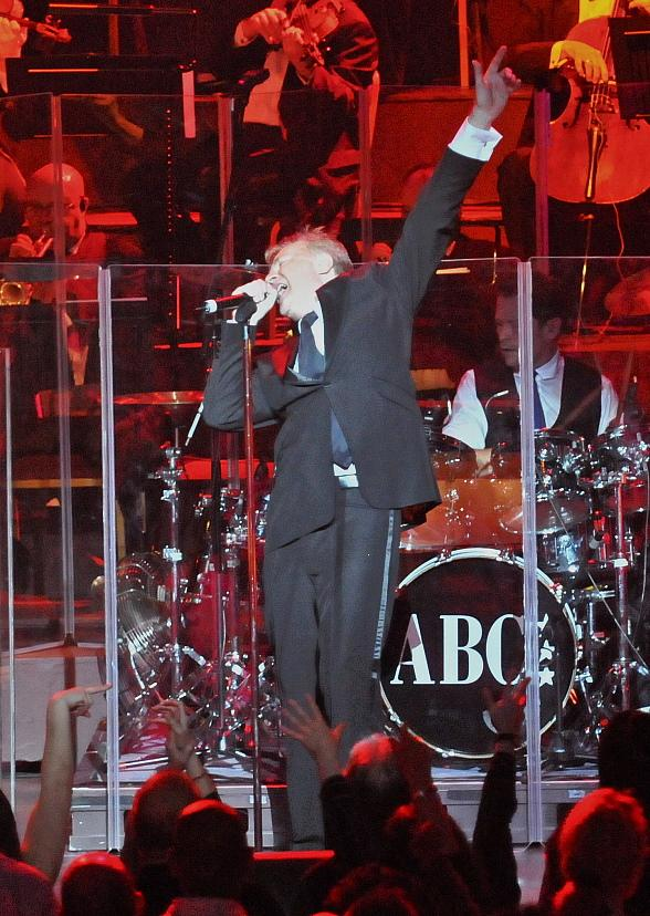 ABC's Martin Fry on stage