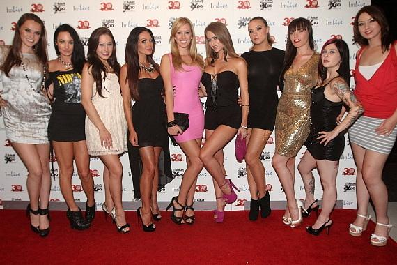 AVN starlets at Vanity Nightclub