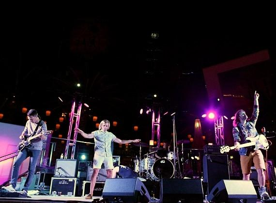 AWOLNATION performs during Thursdays Live at The Cosmopolitan of Las Vegas' Boulevard Pool