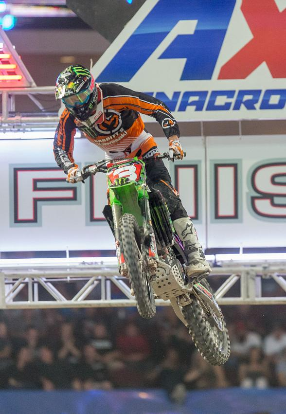 AMSOIL Arenacross Finals Bring the Intensity to Las Vegas