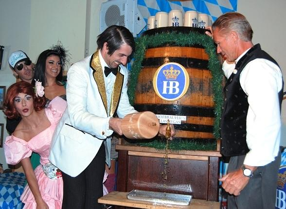 ABSINTHE Cast Celebrates Oktoberfest at Hofbrauhaus Las Vegas