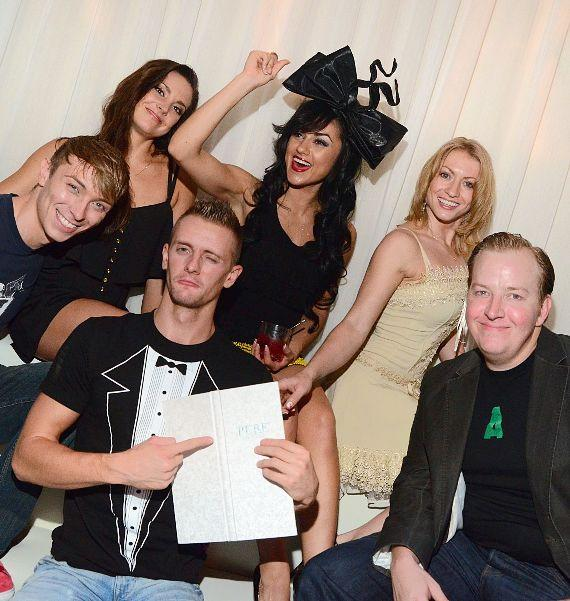 Absinthe cast parties at PURE Nightclub