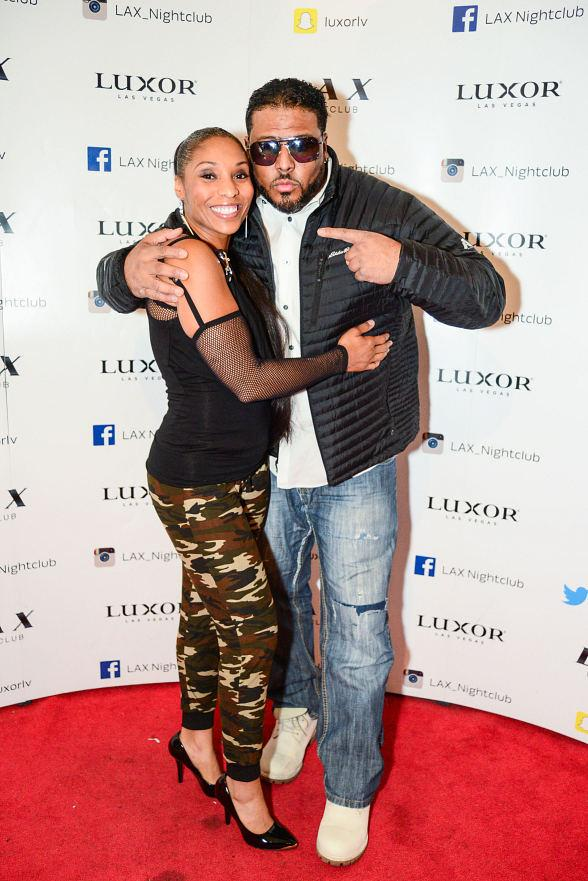 Adina Howard and Al B. Sure! Take over Throwback Thursday at LAX Nightclub inside Luxor Hotel and Casino