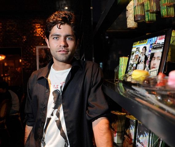 Adrian Grenier at the art exhibit inside Sugar Factory Chocolate Lounge at Paris Las Vegas