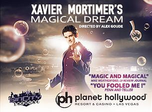 Xavier Mortimer's Magical Dream Astounds Audiences at Sin City Theater at Planet Hollywood Resort & Casino
