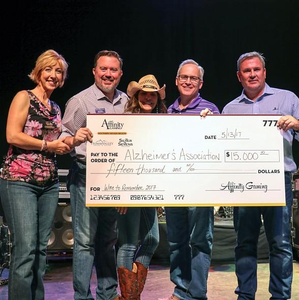 """Wine to Remember"" raises $25k for Alzheimer's at Whiskey Pete's Hotel & Casino in Primm"