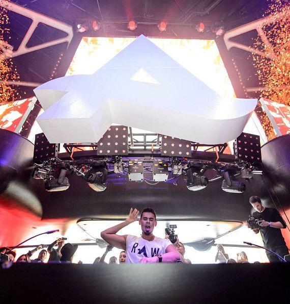 Afrojack makes Hakkasan Las Vegas nightclub debut
