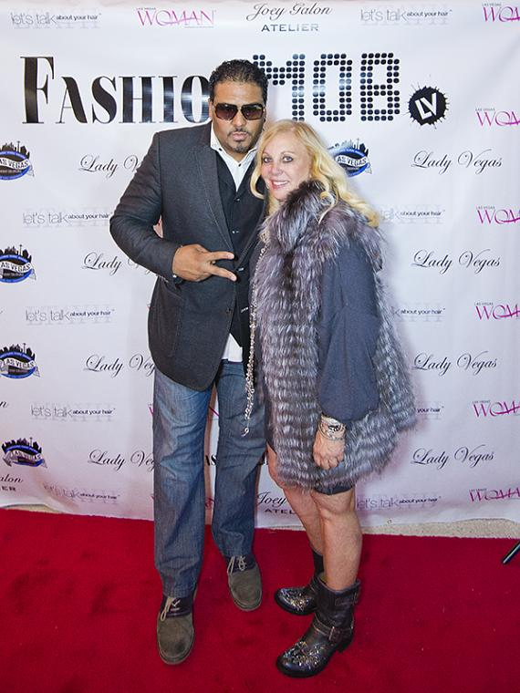 Al B Sure and friend