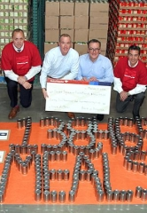 Bank of America Fights Hunger in Las Vegas, Donates $46,155 – equivalent to 138,465 meals – to Three Square Food Bank