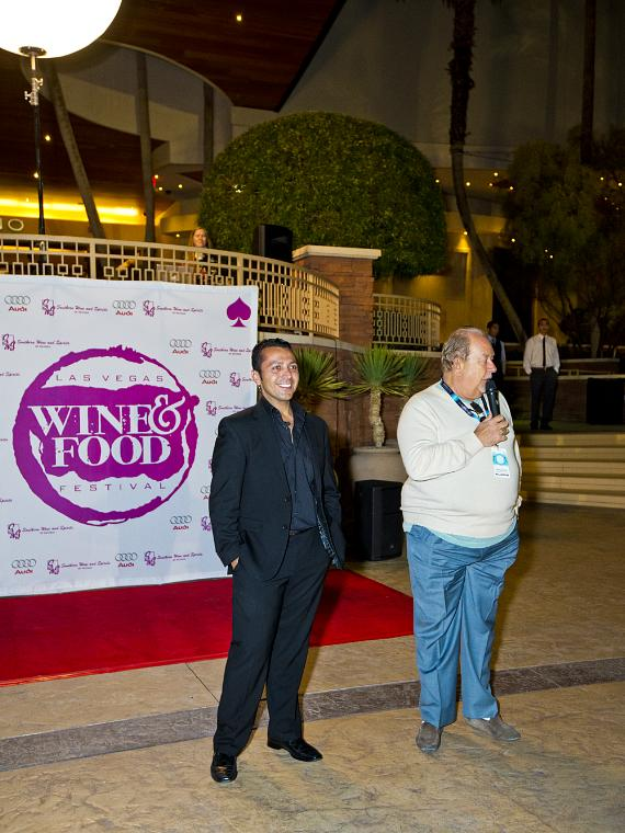 Alan Semsar and Robin Leach