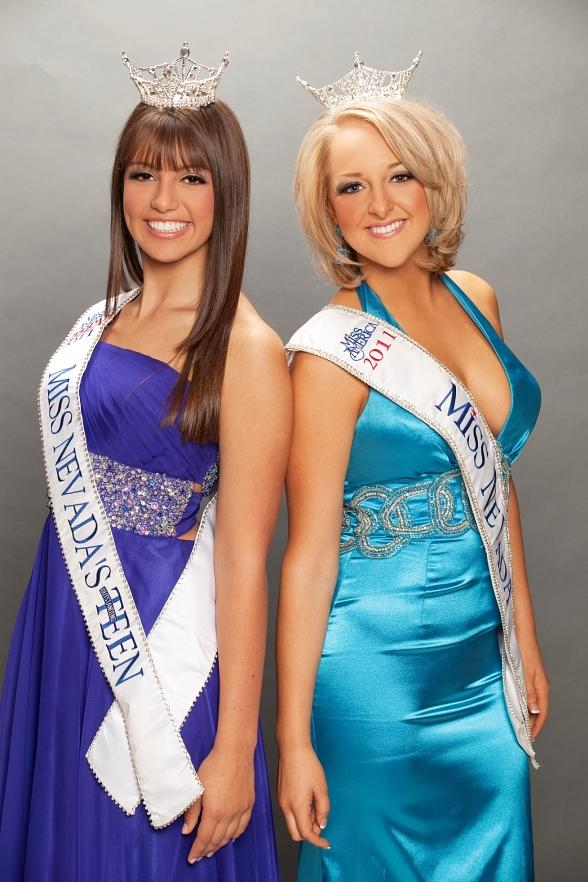Miss Nevada Alana Lee and Miss Nevada