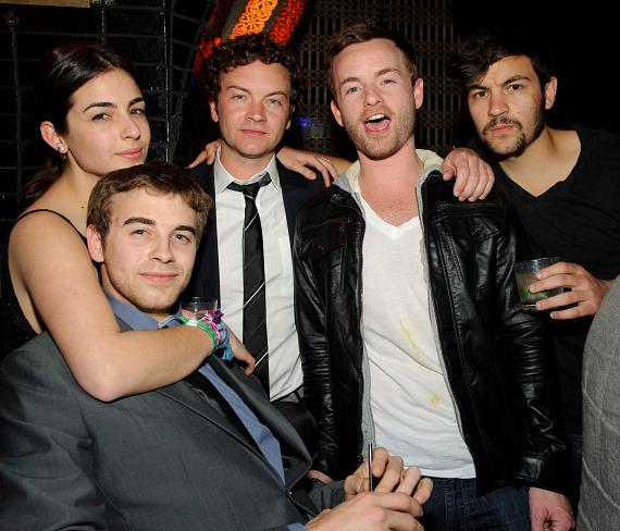 Danny Masterson Celebrates Birthday at LAVO Las Vegas