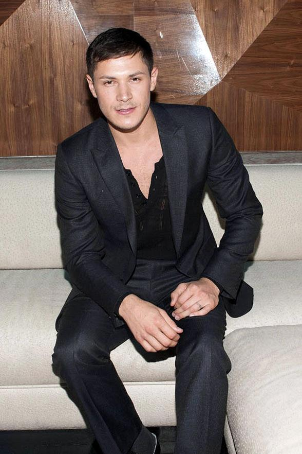 Twilight's Alex Meraz Parties at Vanity Nightclub