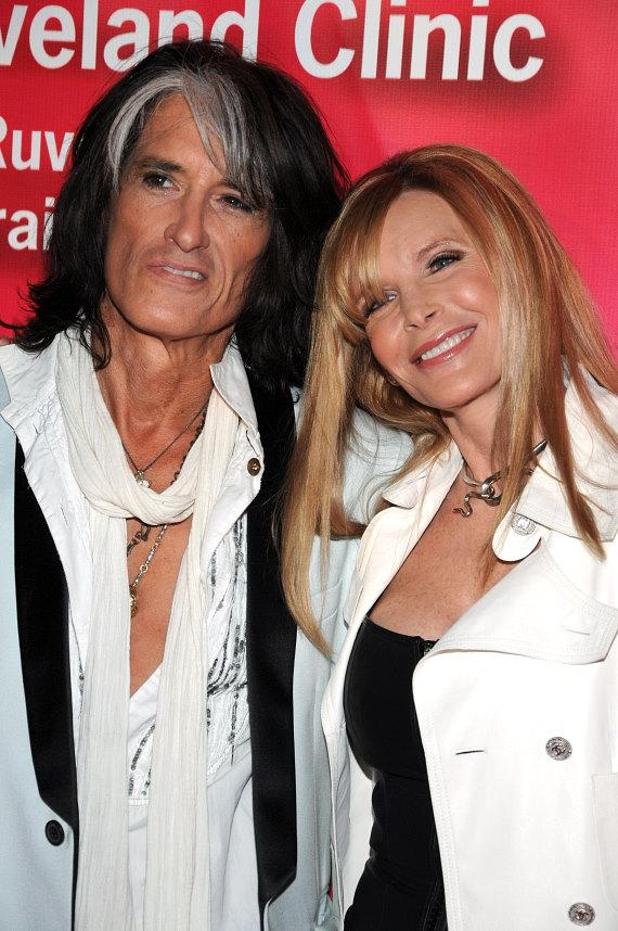 Joe Perry and wife Billie