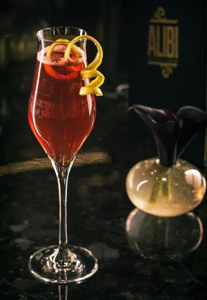 Alibi Cocktail Lounge at Aria Resort & Casino Celebrates Valentine's Day with Specialty Red & Pink Cocktails