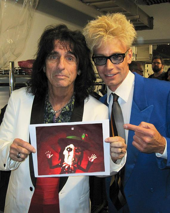 Alice Cooper and Murray SawChuck