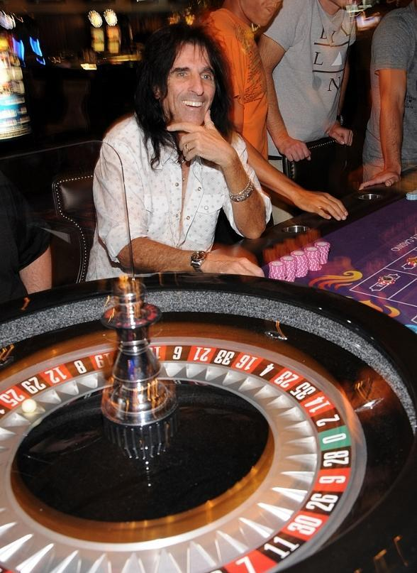 Alice Cooper at Hard Rock Hotel &amp; Casino in Las Vegas