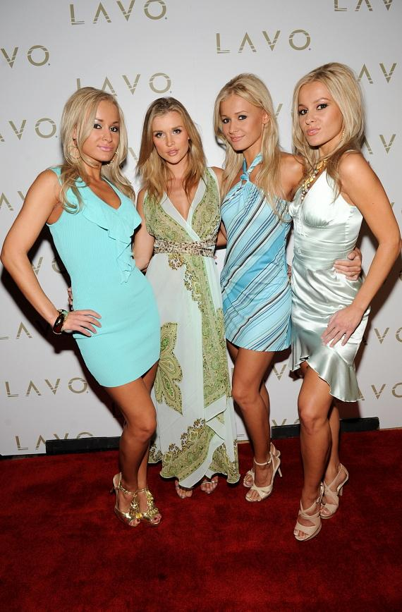 Alizma Triplets and Joanna Krupa at LAVO