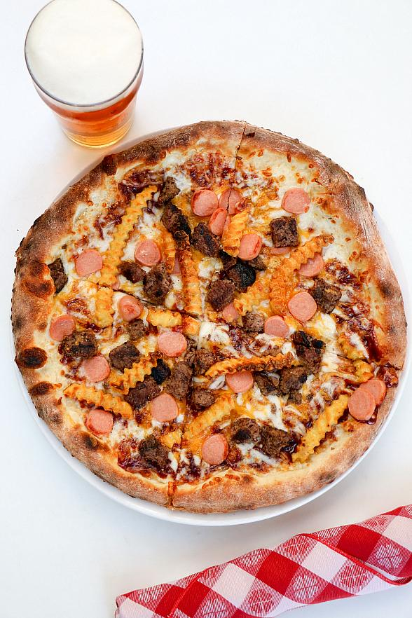 "Eat Your Way Through the Fourth at Flour & Barley with ""The All-American Pizza"""