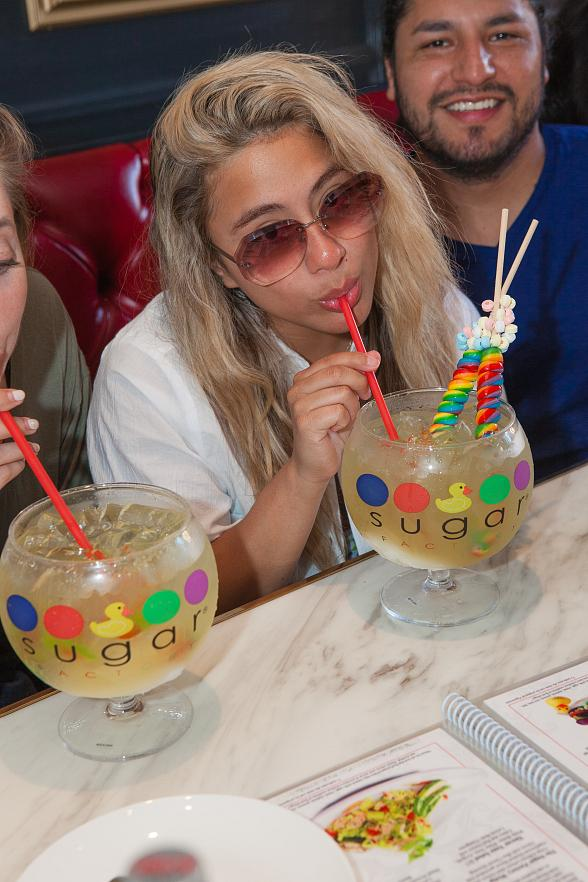 Ally Brooke from Fifth Harmony at Sugar Factory American Brasserie Las Vegas