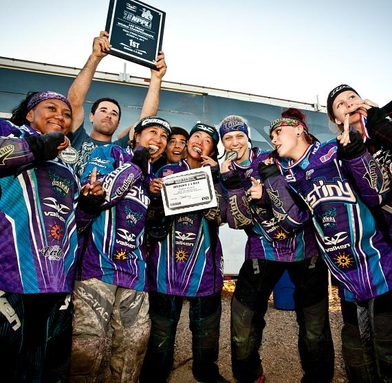 Destiny All-Female North American Paintball Team