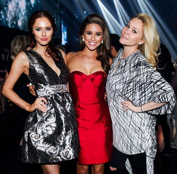 Alyssa Campanella, Nia Sanchez and Shanna Moakler host the official Miss Nevada after-party inside LiFE Nightclub