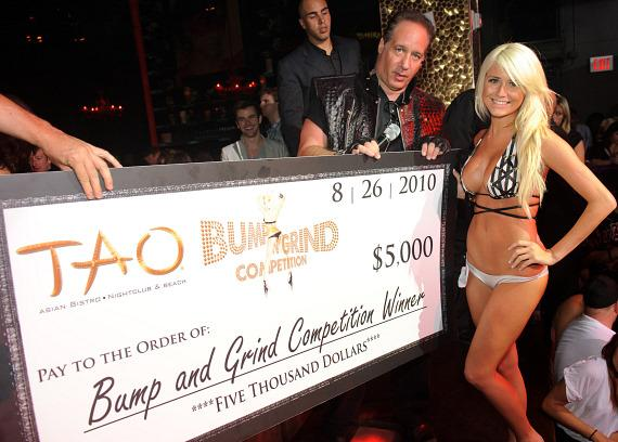 Amanda L'Hommedieu and andrew Dice Clay at TAO