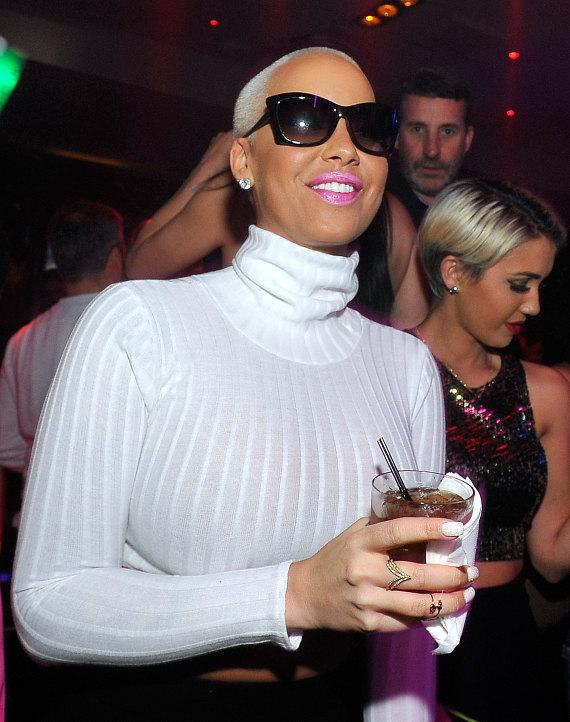 Amber Rose at 1 OAK Las Vegas at The Mirage