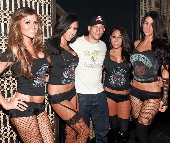 Ami James at LAVO