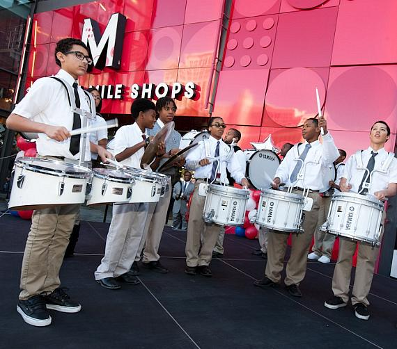 Andre Agassi College Preparatory Academy drum line