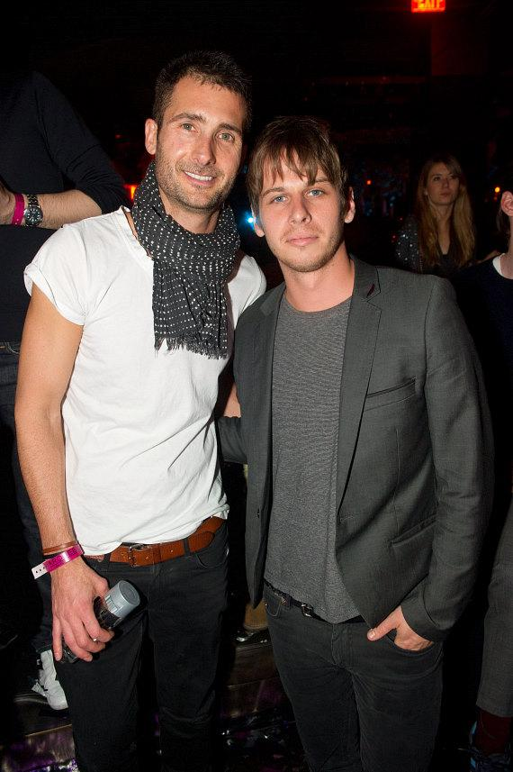 Andrew Pollard and Mark Foster at Marquee