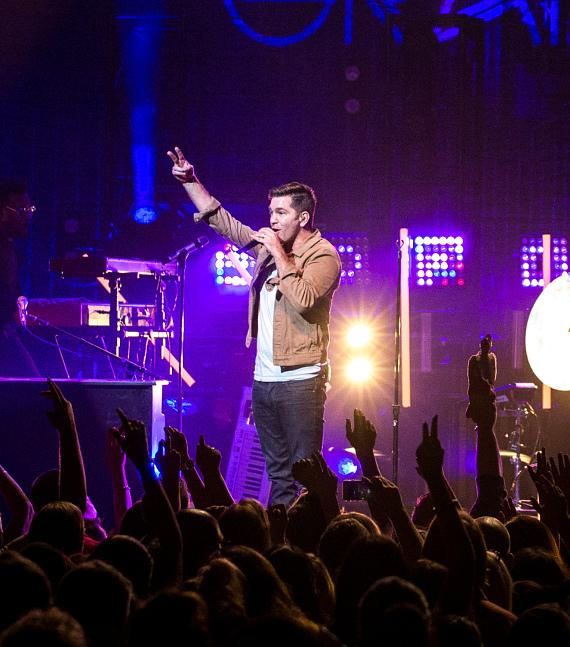 Andy Grammer performs at The Cosmopolitan of Las Vegas