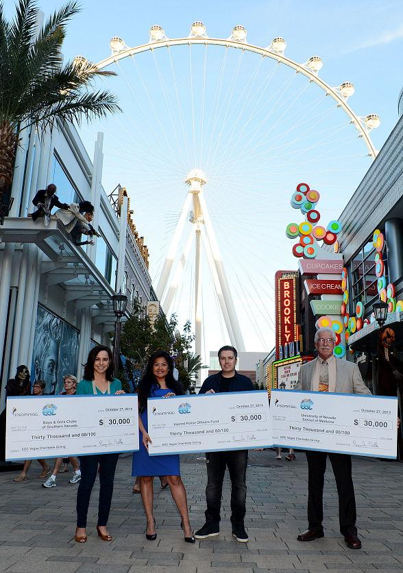 Insomniac Donates $90,000 from Electric Daisy Carnival, Las Vegas Ticket Sales to Three Las Vegas Charitable Organizations