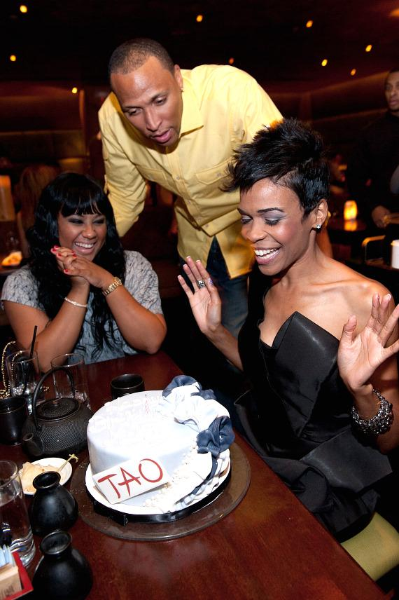 Shawn Marion and Michelle Williams Host Celebrity Poker Tournament Kick-off Party at TAO