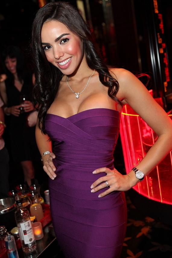 Angela Francesca Frigo at Playboy Club