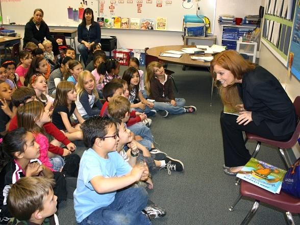 Angelica Bridges Spreads Joy of Reading During Nevada Reading Week