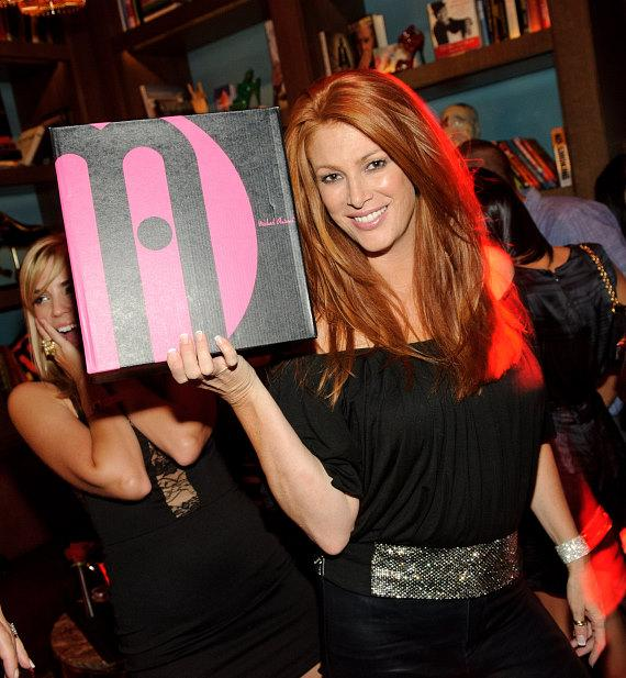 Angie Everhart at Marquee