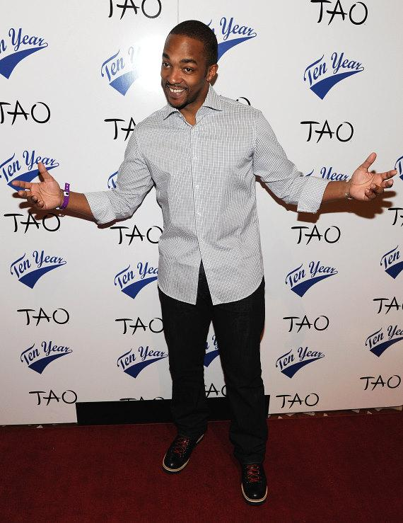 Anthony Mackie at TAO