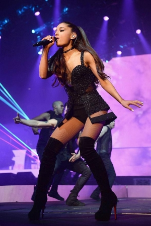 "Ariana Grande Brings ""The Honeymoon Tour"" to Mandalay Bay Events Center August 29"