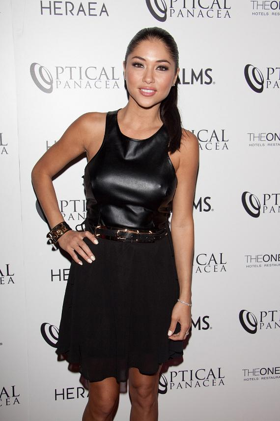 Arianny Celeste at Optical Panacea Launch Party at HERAEA Las Vegas