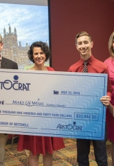Aristocrat Donates Nearly $34,000 to Make-A-Wish Southern Nevada