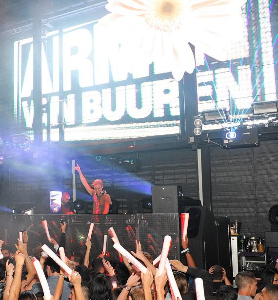 Armin Van Buuren at Marquee during EDC Week