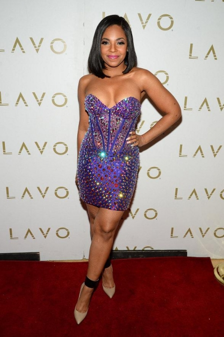 Ashanti on LAVO Red Carpet